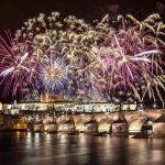 What time Prague 2019 fireworks will start?